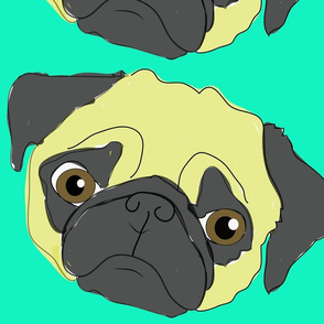 pug_life_blue_background