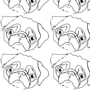 outline_pug
