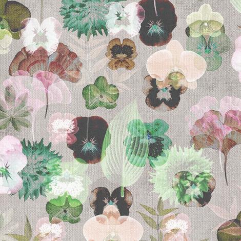 Botanical fabric - kimsa - Spoonflower