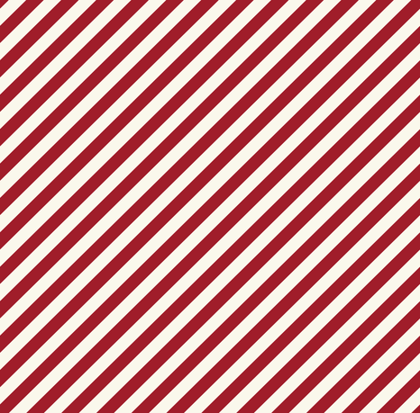 Diagonal Stripes - Red