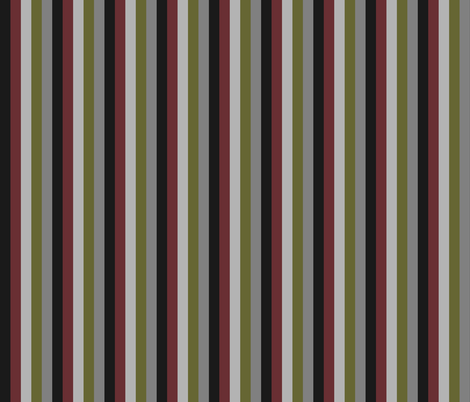 Industrial Steampunk Stripe fabric by implexity on Spoonflower - custom fabric