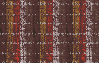 Rusty Steampunk Stripe (canvas texture)