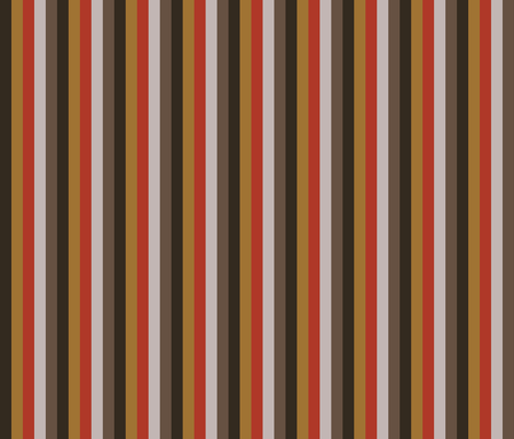 Rusty Steampunk Stripe fabric by implexity on Spoonflower - custom fabric