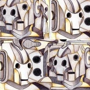 Cubist Cyber Conga
