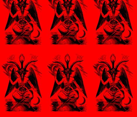 baphomet red