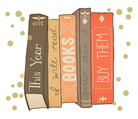 Year of Books fabric by katherinelenius on Spoonflower - custom fabric