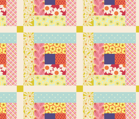SpringCheater fabric by melhales on Spoonflower - custom fabric