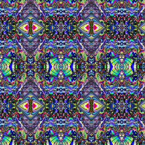 Exotic aliens mugglz spoonflower for Alien print fabric