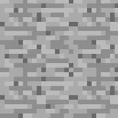 Minecraft Stone - Medium