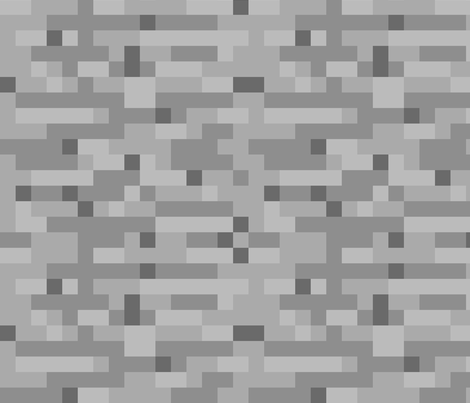 Minecraft Stone - Large fabric by elsielevelsup on Spoonflower - custom fabric