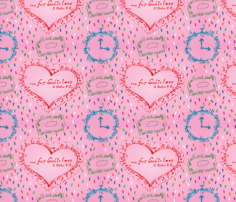 My New Years Resolutions fabric by brandymiller on Spoonflower - custom fabric