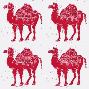 Redwork Camels