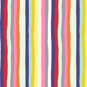 Spring Floral Stripe