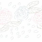 Floral sketch