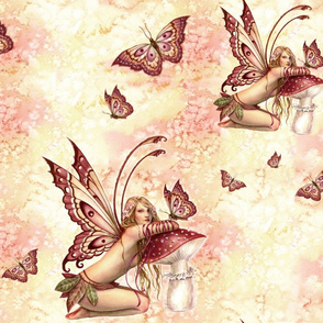 Butterfly Fairy Painting - Selina Fenech Fantasy Art