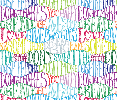 This Year & Every Year fabric by sammyk on Spoonflower - custom fabric