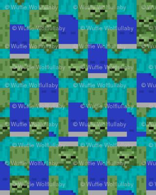Minecraft Zombie - Small