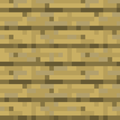 Minecraft Oak Planks - Large