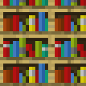Minecraft Bookshelves - Large