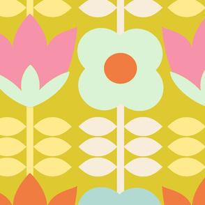 floral_spring_fond_vert_L