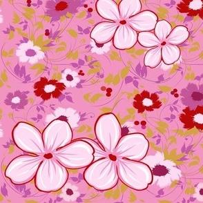 Kaylee's Pink Floral Shirt