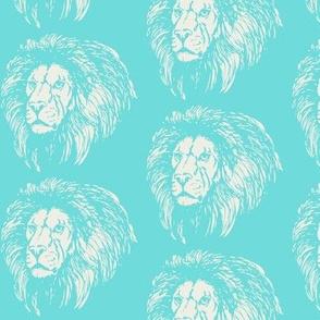 Turquoise Lion