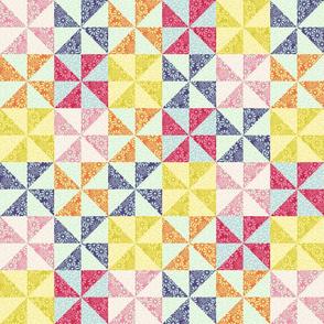 Spring patchwork