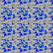 Minecraft Lapis Lazuli ore - Medium