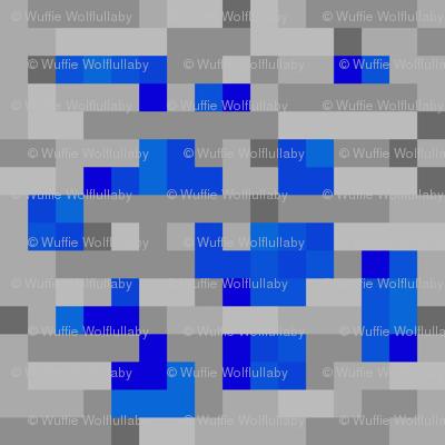 Minecraft Lapis Lazuli ore - Large