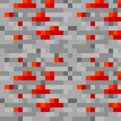 Minecraft Redstone Ore - Large