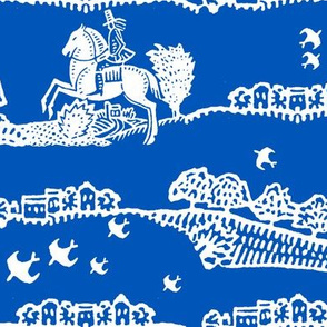 horseman blue