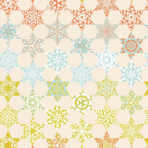 Gradient Floral Quilt