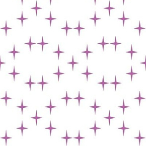 Cross Star in Radiant Orchid