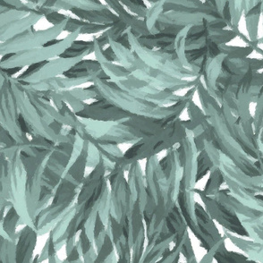 Tropical Leaf Aqua