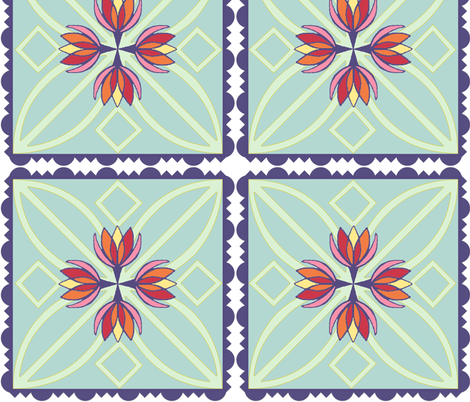 Crocused fabric by dkdemott on Spoonflower - custom fabric