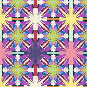 Circus Tiles on Violet