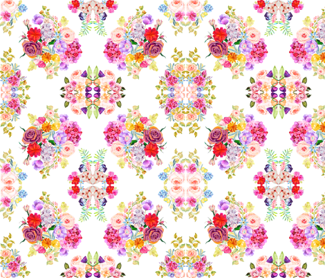 Summer in the Orchard  fabric by theartwerks on Spoonflower - custom fabric