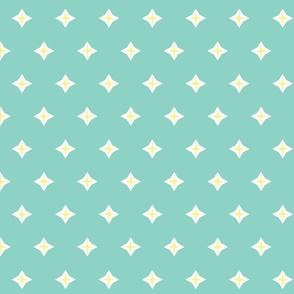 Diamond star- cool mint