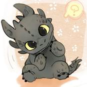 Baby Toothless-ed-ed