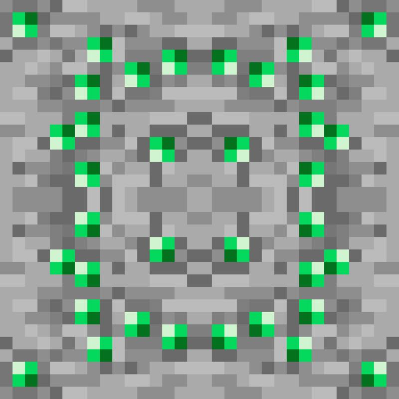 Minecraft Emerald Ore Wallpaper Rore_-_emerald_-_100px_ea_ ...