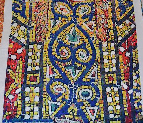 Byzantine Mosaic - Empress St. Irene