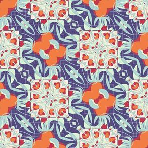 flower quilt block