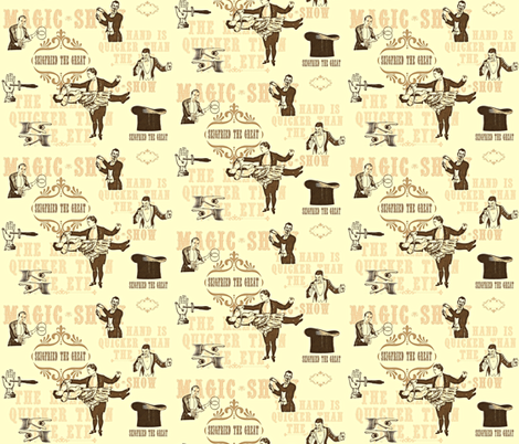 Abracadabra fabric by firedryad1 on Spoonflower - custom fabric