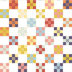 Spring_Floral_Cheater_Quilt_Block