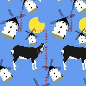 Sammy - the goat of La Mancha
