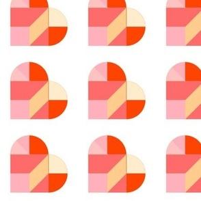 Tangram Hearts