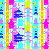 pagoda-scarf