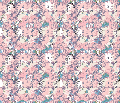 cestlaviv_spring powder hex cheater fabric by cest_la_viv on Spoonflower - custom fabric