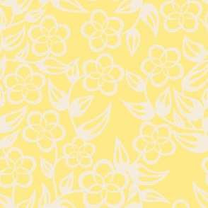 Fat Quartet Mint, Blue, Beige and Yellow