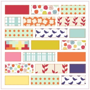 Spring Time Cheater Quilt